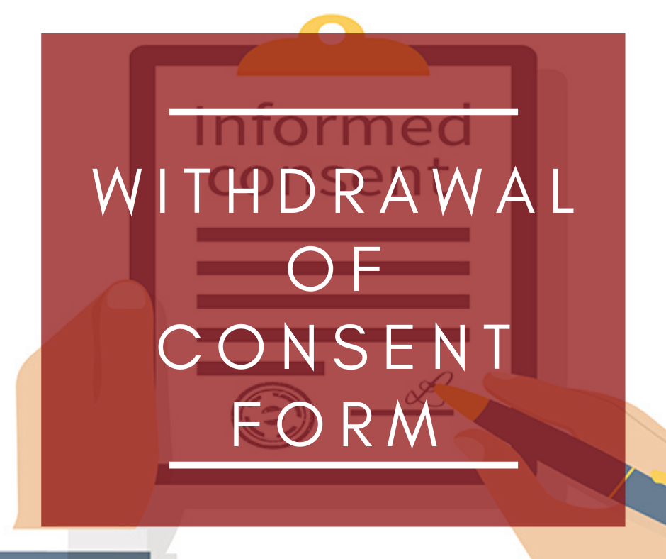Allstaff Recruitment Withdrawal of consent form