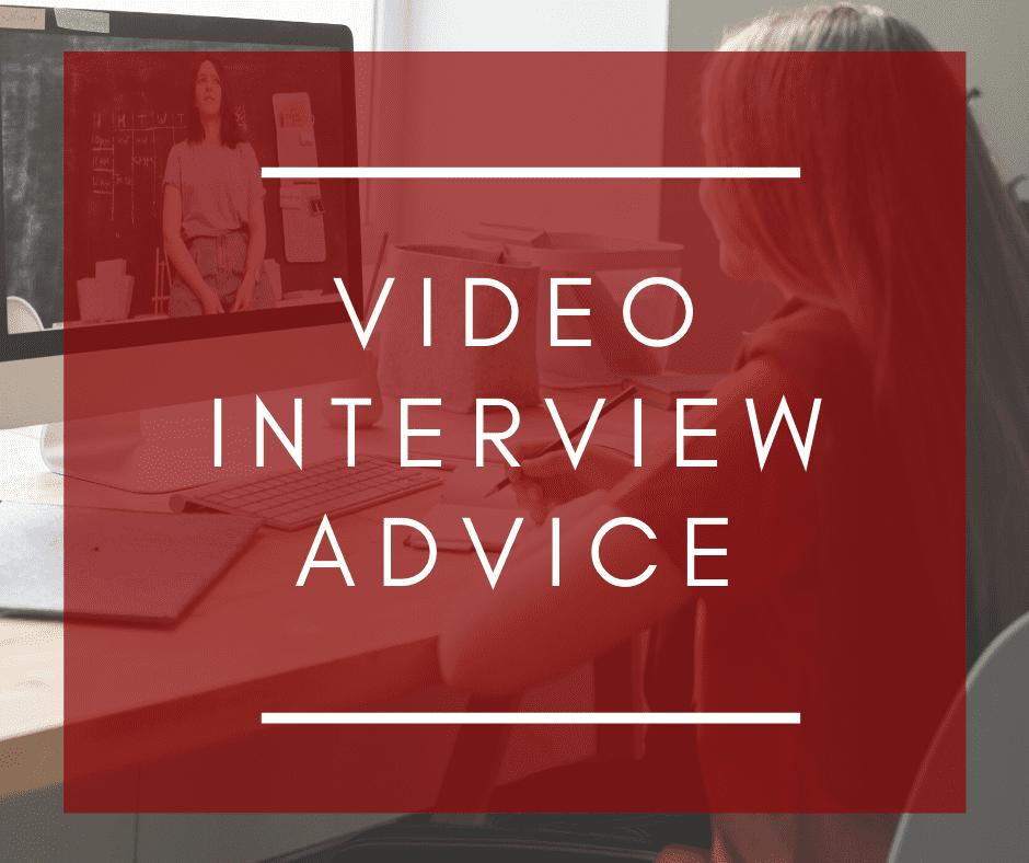 Alstaff Recruitment Video Interview advice
